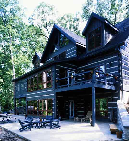 Hearthstone Log and Timber Frame Homes - Timberwright Log Home System