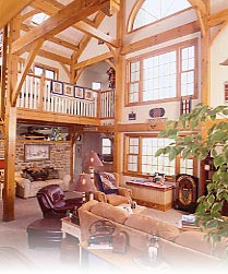 White Oak Timber Frame in Chester Springs, PA