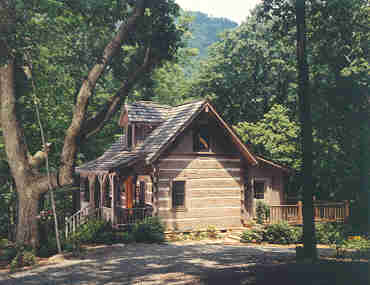 Hearthstone Log and Timber Frame Homes   GuesthouseBack to Timberlake Main Page