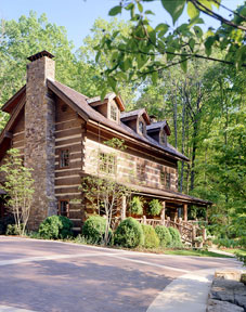 Custom Timberlake Log Home