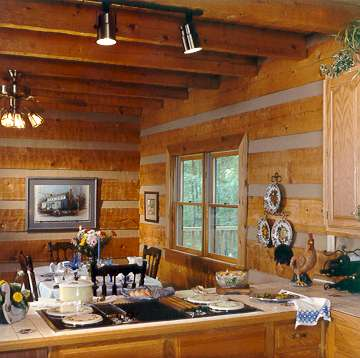 Traditional Log Home System