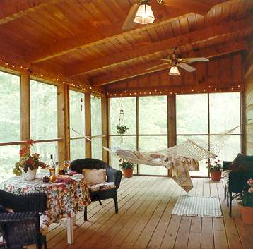 Screened In Porch Ideas. Rear Screened Porch