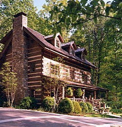 Custome Timberlake Log Home